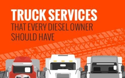 Truck Services That Every Diesel Owner Should Have [infographic]